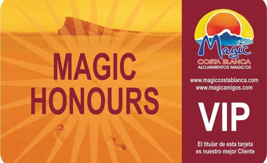 Club VIP 'Magic Honours' Magic Aqua™ Villa Luz Plage de Gandía