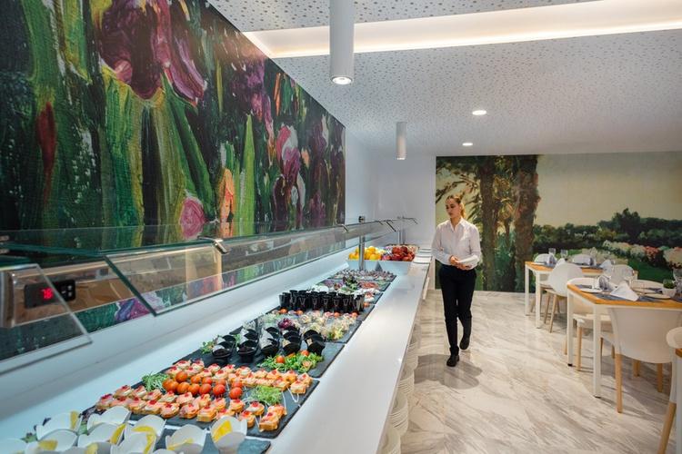 Restaurant buffet villa luz family gourmet & all exclusive hôtel plage de gandía