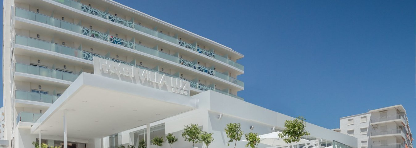 Façade Villa Luz Family Gourmet & All Exclusive Hôtel