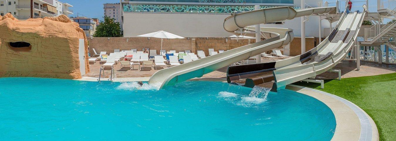 Toboganes Magic Aqua Experience™ Villa Luz Family Gourmet & All Exclusive Hôtel