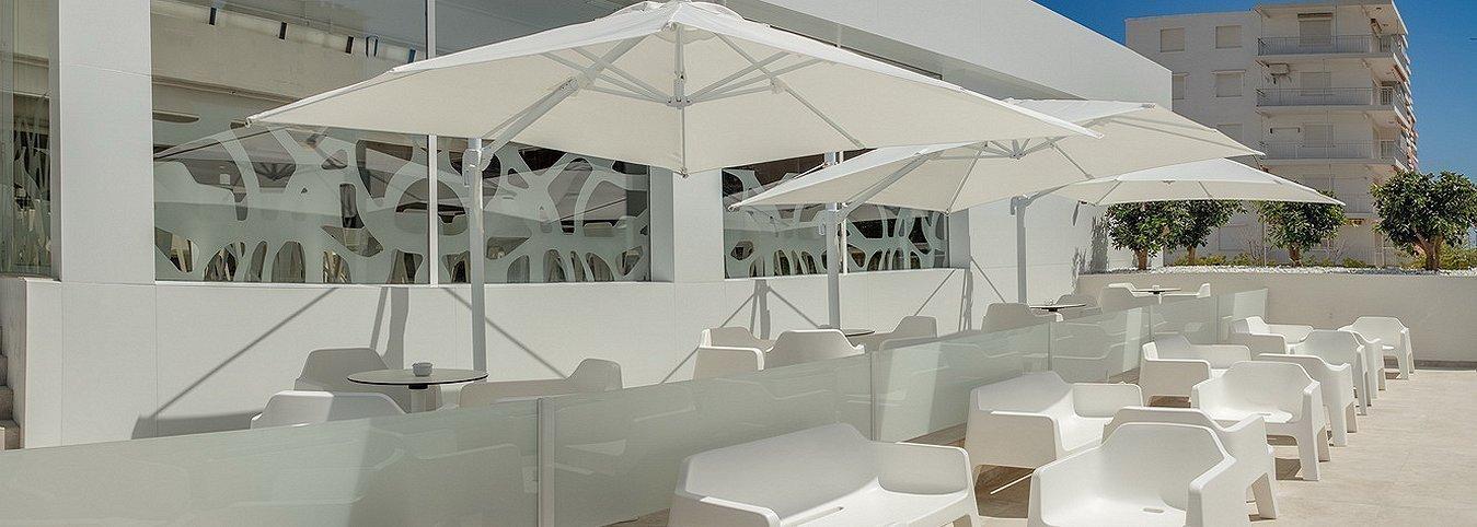 Chillout Exterior Villa Luz Family Gourmet & All Exclusive Hôtel
