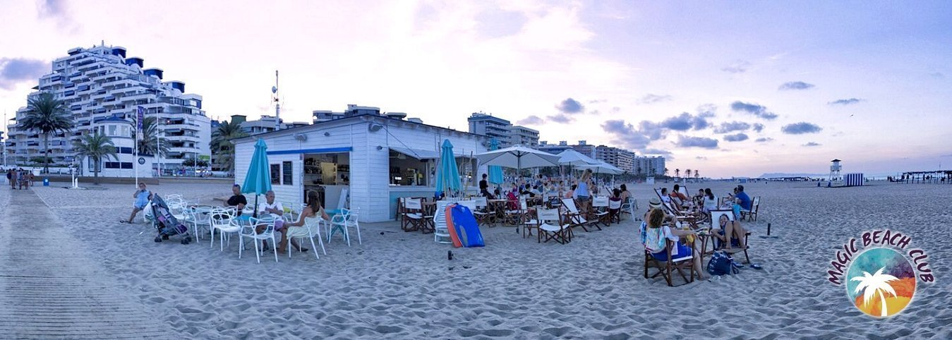 Bar de la plage 'Magic Beach Club' Villa Luz Family Gourmet & All Exclusive Hôtel